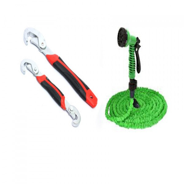 Combo of Snap & Grip Tool Set & Magic Hose (75)