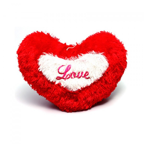Heart Love Pillow - Red