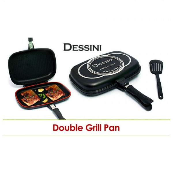 Dessini Die-Casting Double Grill Pan