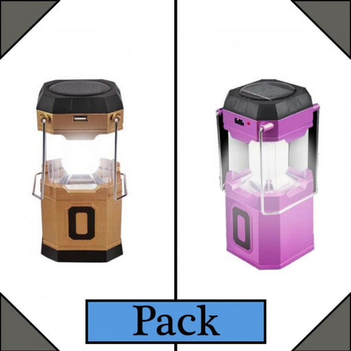 Pack of 2 Rechargeable Lantern