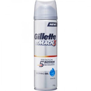 Gillette Mach3 Irritation 5 Defense Soothing Shave Gel 200ml