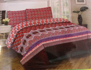 Dynasty King Size Bed Sheet - Design 07