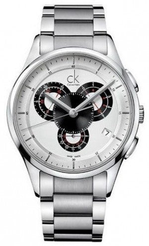 CALVIN KLEIN MEN'S BASIC CHRONOGRAPH WATCH - K2A27185