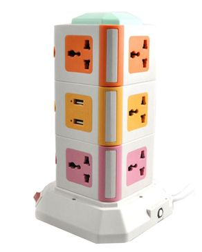 HM Vertical Power Sockets with USB Ports