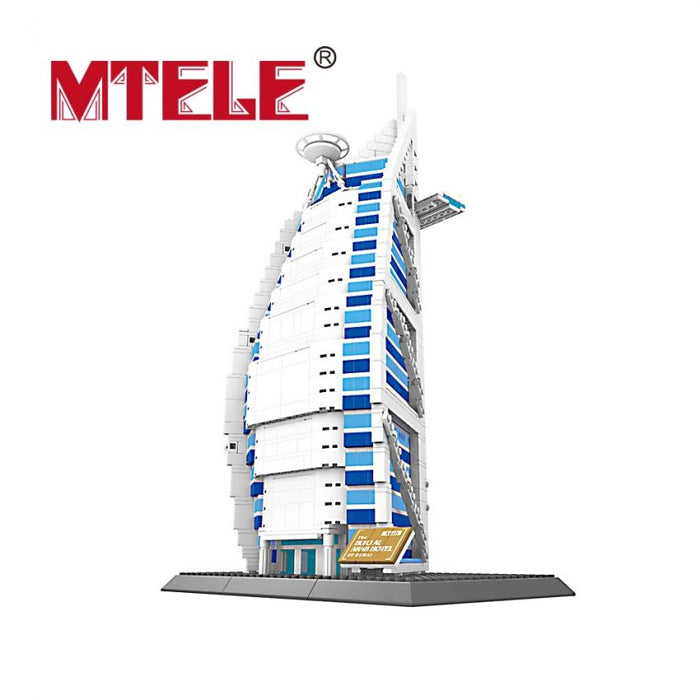 Burj Arab Blocks Kids Toys Play