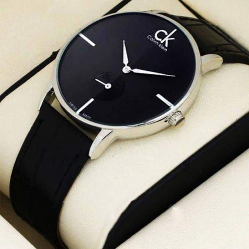 CK Chronograph Watch for Men - Black