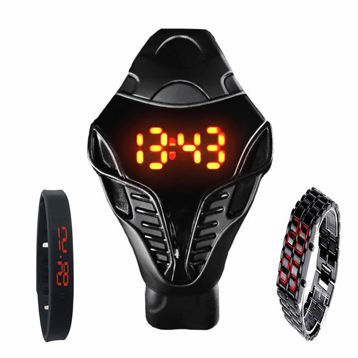 Combo of 3 LED Watches
