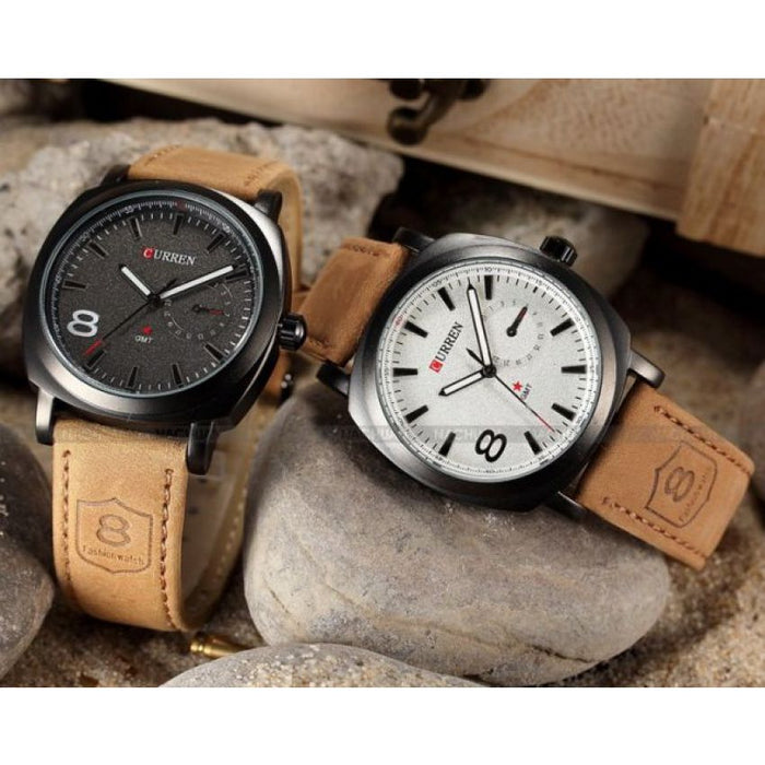 Watches for Men - Pack of 2 Curren Military Watches