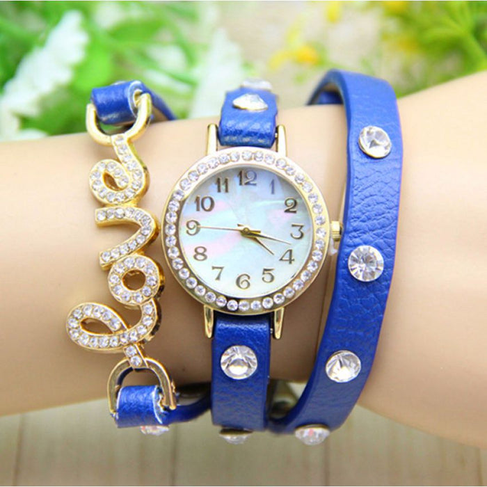 Leather Strap Watch for Women