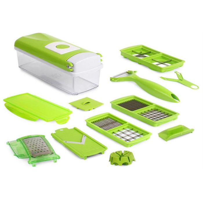 For Kitchen - 12 Pieces Genuine/Original Nicer Dicer Plus