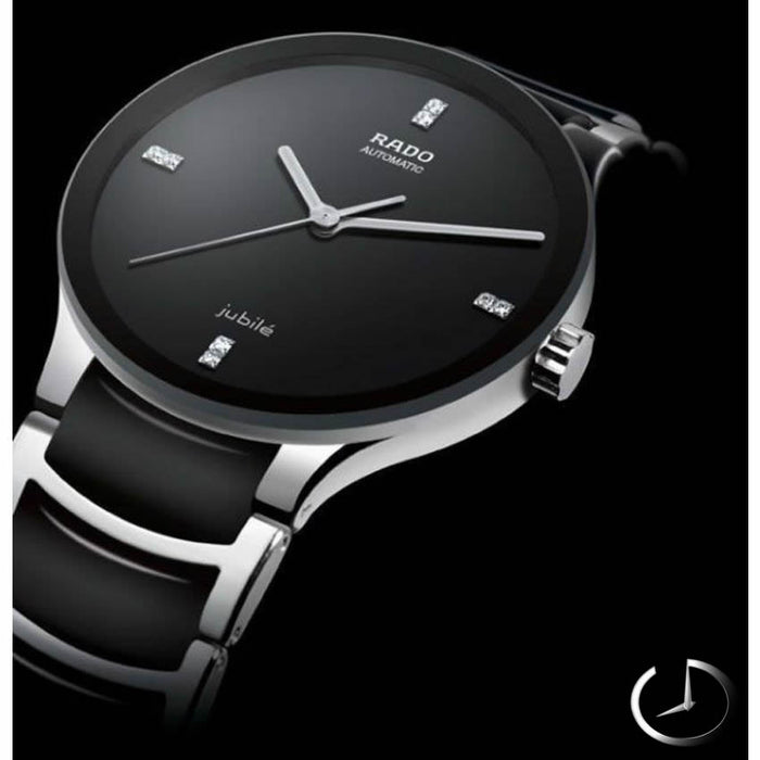Watches for Men - Stylish Rado - Silver Black Color