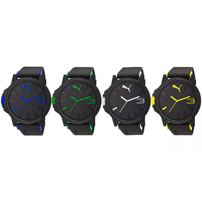 Pack of 4 Puma Sports Look Ultra Size Watches