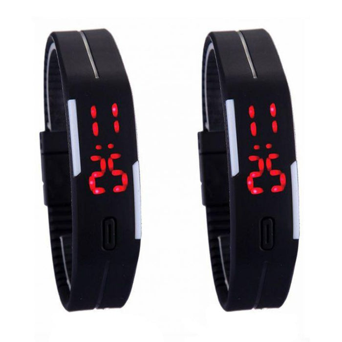 Pack of 10 LED Wrist Watches