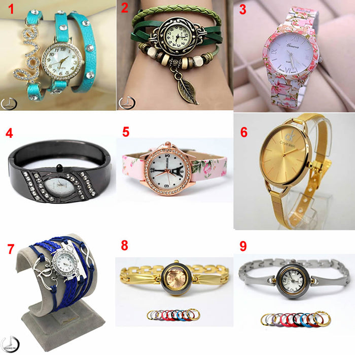 Pack Of 3 Watches For Women