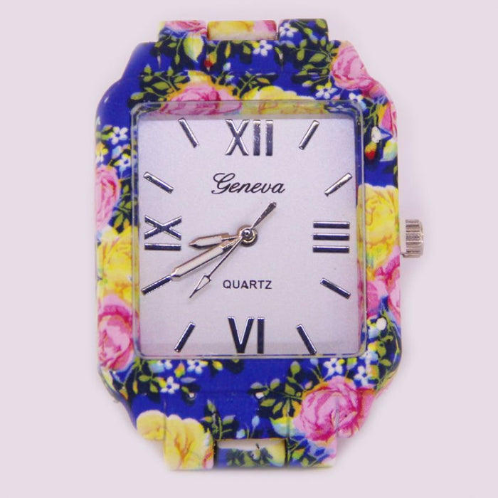 Geneva Floral Watch for Women