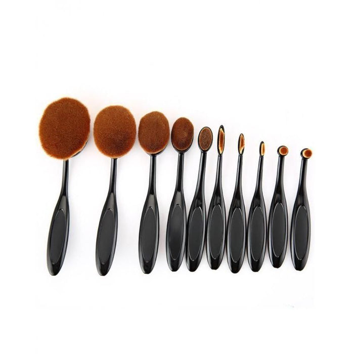 Pack of 10 Professional Makeup Brushes Set  for Her
