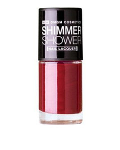 DMGM Red Shimmer Shower Nail Lacquer Scarlett Obsession-05