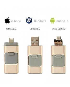 GS Wholeseller iFlash - 16GB - Golden