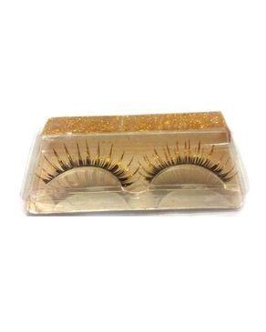 Eyeshah's Golden Era Lashes - Black & Golden