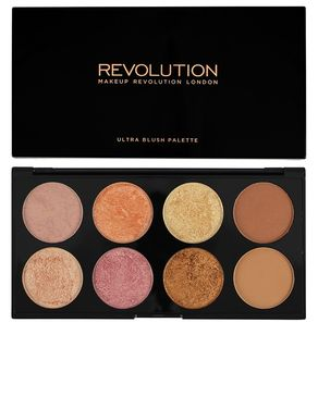 Makeup Revolution London Ultra Palette Golden Sugar 2 Face Palette - Multicolor