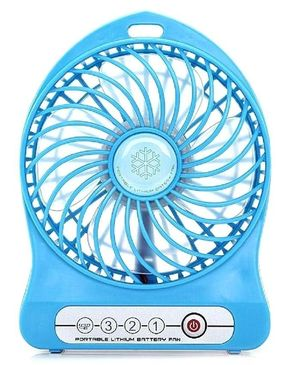 Techup Accessories Mini Portable USB Rechargeable Fan and Power Bank - N/A