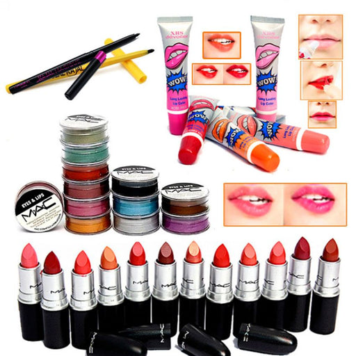 Combo Of 32 Lip Products for Her