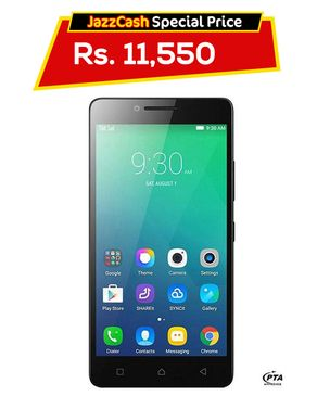 Lenovo A6010 - 16GB - Black & White - 4G LTE