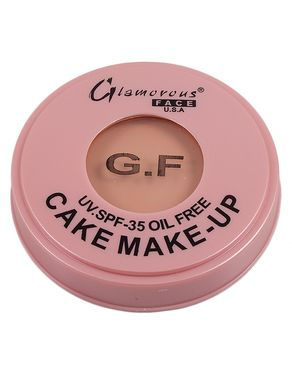 Glamorous Face Oil-Free Foundation - Beige Brown