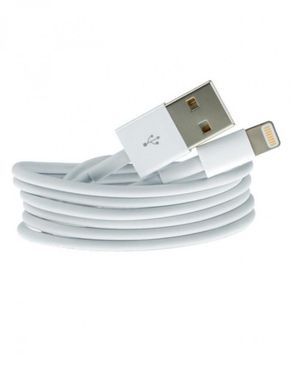 Copper Lightning USB Data Cable for Apple iPhone 5 & 5S - White