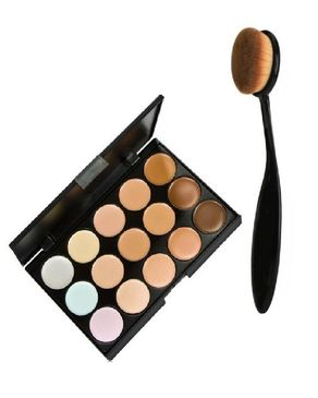 Eyeshah's Contour Kit & Blending Brush - Multicolor