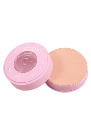 Glamorous Face Wet Pencake with Pink Casing Face Powder