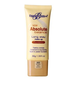 Diana of London Absolute Balance Foundation - Natural Beige-302