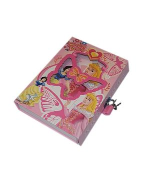 Let's Shop Personal Diary With Lock - Sleeping Beauty