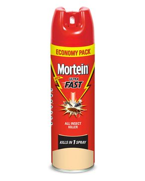 Mortein Aerosol Ultra Fast All Insect Killer 400 ml