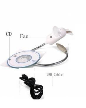 Naveed Electronics Portable Mini USB LED Fan For Displaying Messages