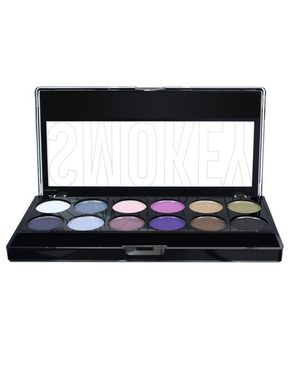 CITY COLOR Smokey Eye Shadow Palette - 12 Shades