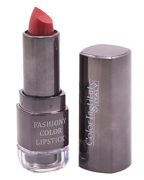 Color Institute Fashiony Black Lipstick in Black Case - Shade 16