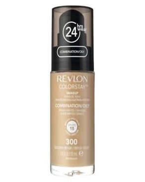 Revlon Color Stay Makeup- Golden Beige Foundation For Combination/Oily Skin