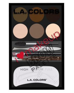 L.A Colors I Heart Makeup Brow Palette - Medium To Deep
