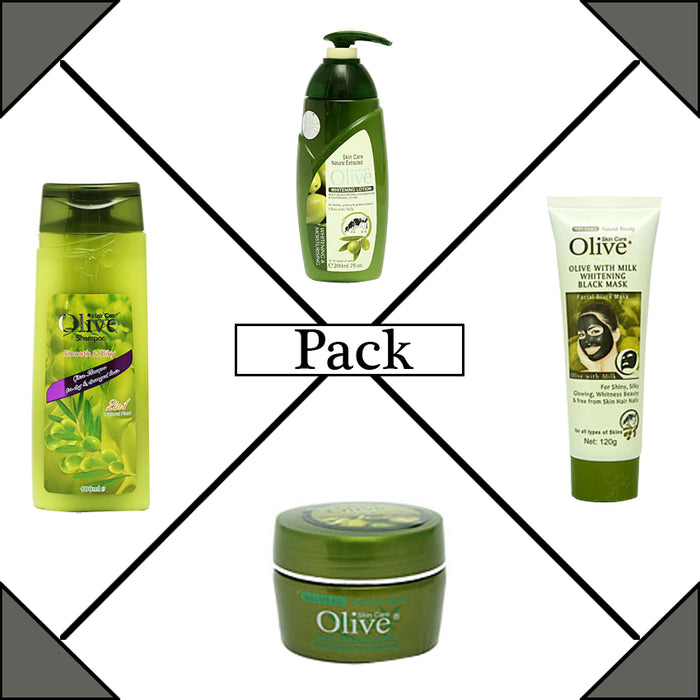 Pack of 4 Olive Products
