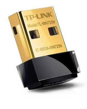TP-Link WN725N - Wireless Nano USB Adapter - Black & Golden