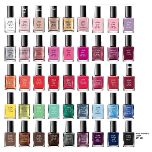 Pack Of 12 Nail Polishes For Her