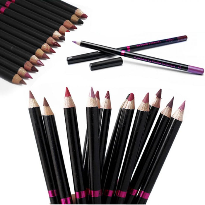 Pack Of 12 Loreal Paris  Lip / Eye Pencils
