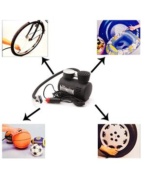 Blitz Hobby 12V Portable 300 PSI Emergency Car Air Compressor - Black