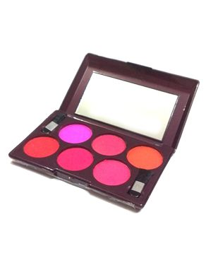 Eyeshah's 6 in 1 Blush On Kit - Multicolor