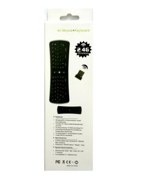 Fast Mobile Accessories RC11 - USB Gyroscope Air Mouse Remote - Black