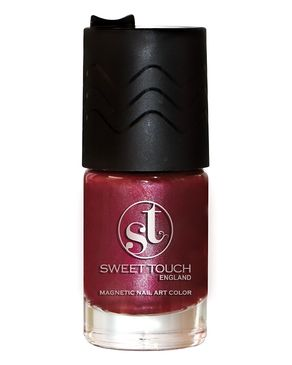Sweet Touch 1142 - Nail Polish Megnatic - Red