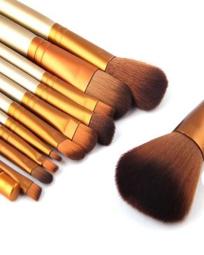 Top Shops Pack Of 12 - Cosmetic Brushes