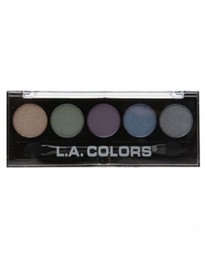 L.A Colors 5 Color Metallic Eyeshadow - Mesmerize
