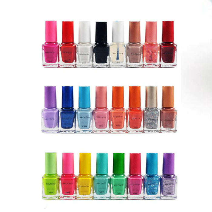 Pack Of 24 Nail Polishes